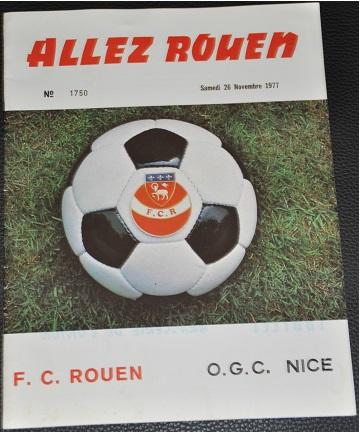 18ème journée - Rouen-Nice - Score 2-0
